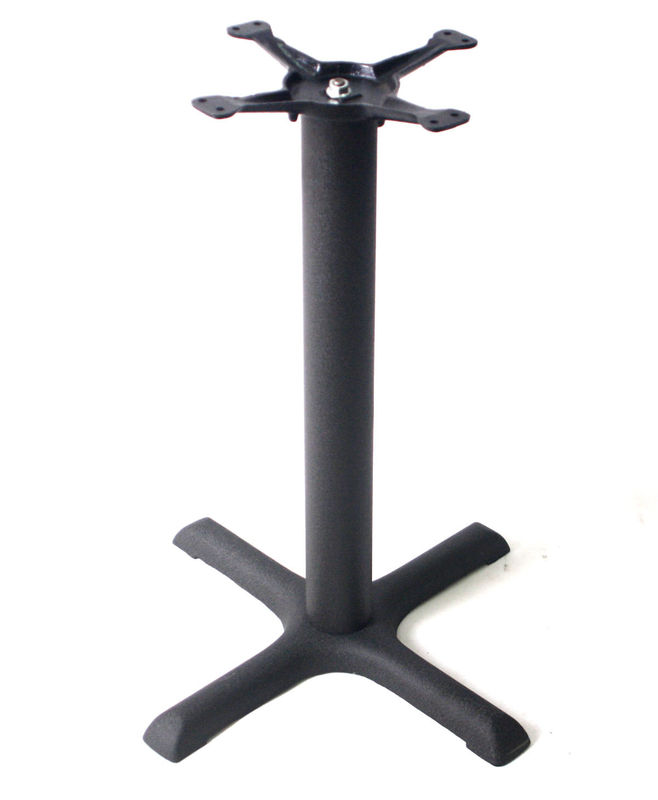 "Cast Iron Restaurant Table Bases 1107 Brand New 28"" / 41"" Height Cross Table Legs"