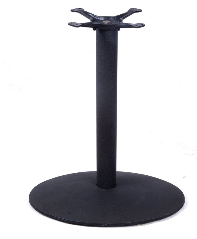 Modern Cast Iron Coffee Table Base  Metal Trestle Table Legs For Bar Table