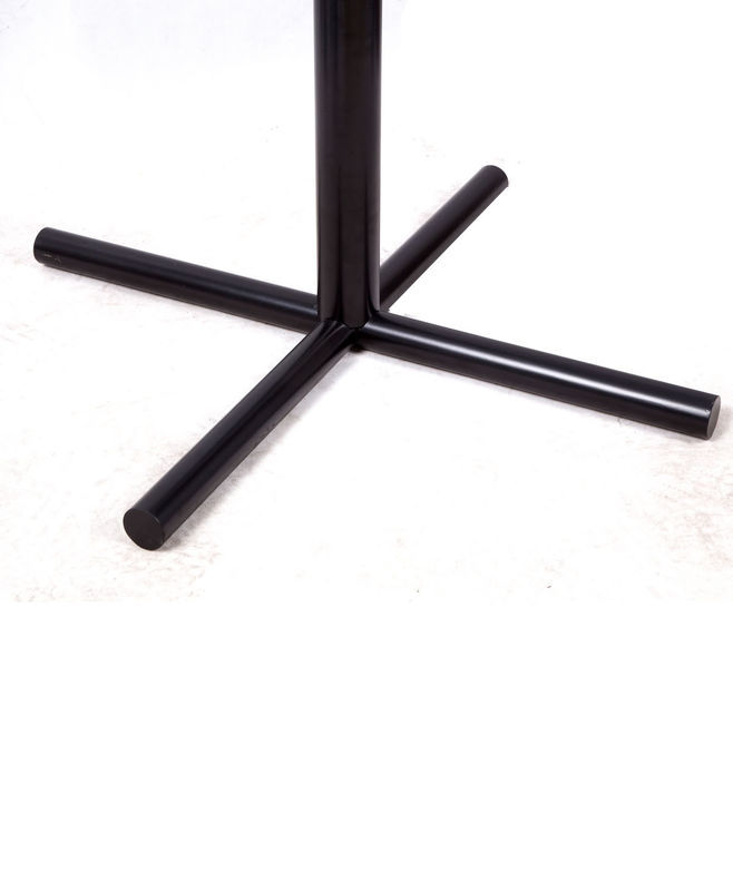 Metal Dining Room Table Legs Restaurant Table bases Black Wrinkle Powder Coated