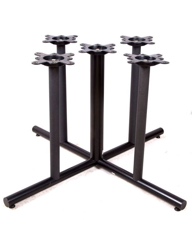 Modern Style Bistro Table Base Pub Table Legs Spider 10X10''Restaurant Table Bases