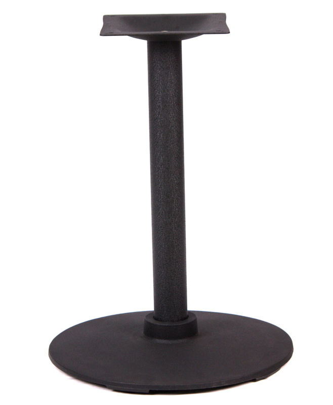 Eco Friendly Bistro Table Base Height 28''/41'' Colour Customized For Restaurant