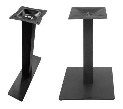 Pedestal Powder Coated Bar Table Legs Mild Steel Table Bases For Commercial Furniture