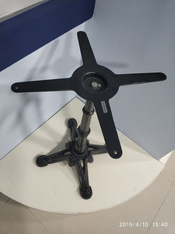 Cast Iron Table Base Outdoor Pedestal Base Powder Coated Modern Metal Table legs and bases