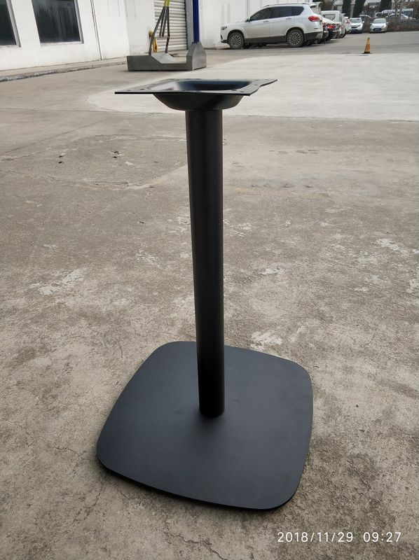 Square Bar Table Outdoor Patio Table Steel Table Legs Metal Furniture Parts